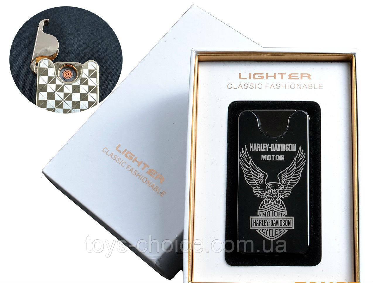"Usb Зажигалка ""Harley-Davidson Motor"" (Спираль Накаливания) №4783А-3"