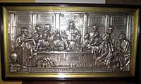 Икона Тайная вечеря в серебряной ризе 61*34 см