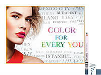 -20-33% (при регистрации) Карандаш для глаз Flormar pre.tty QUEEN BLUE