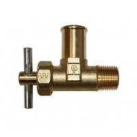 Клапан отсечной филтрара гидравлического для комбайна New Holland T8040, Т8050, Case MX, 2388, 5088