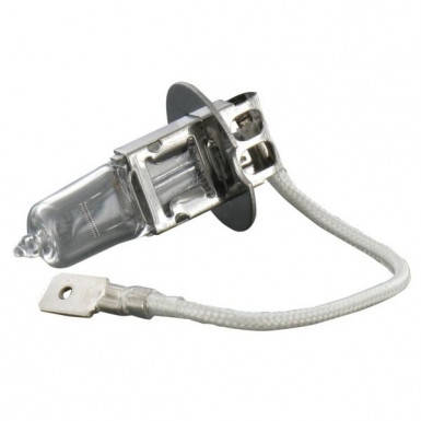 Лампа 12V 55W H3 (с проводком) для трактора Case, New Holland, фото 2