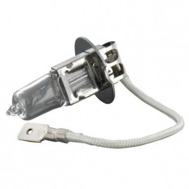 Лампа 12V 55W H3 (с проводком) для комбайна Case, New Holland, фото 2