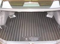 Резиновый коврик в багажник Toyota Corolla 02-07 Lada Locer (Локер)