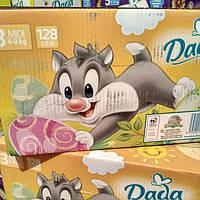 Подгузники детские DADA Extra Soft (3) midi 4-9кг 128 шт