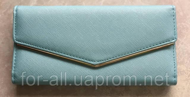 Женский клатч голубого цвета в интернет-магазине Модная покупка