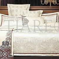 Богатый комплект постельного белья из сатина -жаккарда