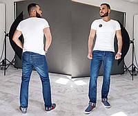 Мужские стильные прямые джинсы М-39
