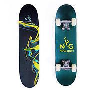 Скейт, скейтборд детский синий - распродажа, новая поставка