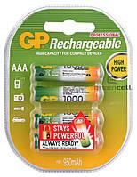 Аккумулятор GP Rechargeable R03 1000 mAh Ni-MH