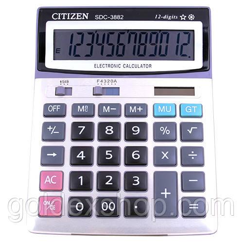 Калькулятор CITIZEN 3882, подвійне живлення