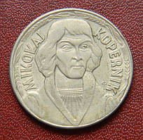 Польша 10 злотых 1968 Коперник