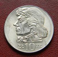 Польша 10 злотых 1973 год. Т. Костюшко