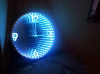 Часы с эффектом бесконечности - Завораживающий тунель!
