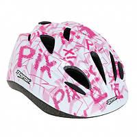 Женский защитный шлем для роллеров и скейтеров, с козырьком и регулируемым ремешком розовый Tempish Pix