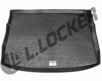 Резиновый коврик в багажник Volkswagen Golf 7 12- Lada Locer (Локер)