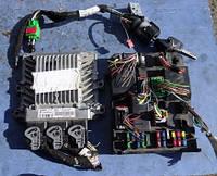 Блок управления двигателем комплект ( ЭБУ )Peugeot307 2.0hdi2001-2008Siemens VDO 5WS40029I-T, sv cmm sid80