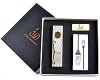 """Спиральная USB зажигалка """"Cartier"""" №4756, подарочная упаковка, отличная идея для подарка, безотказная работа"""