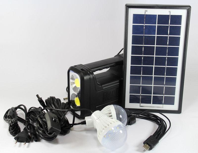 Автономна сонячна система освітлення GDLite GD-8038 ZPX