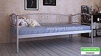 Кровать металлическая  Дарина Люкс / Darina LUX полуторная 120 (Метакам) 1250х2080х770 мм