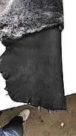 Мех обувной для пошива угги черный