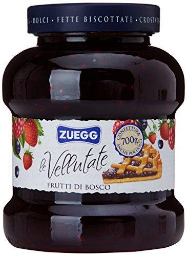 Джем из лесных ягод Zuegg Frutti di Bosco 50% содержания ягод, 700 г.