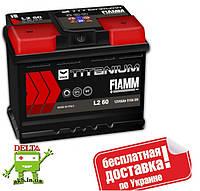 АКБ FIAMM TITANIM BLACK 6СТ- 60Аз 510А R