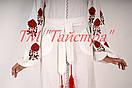 Платье вышитое белое  лен, вышиванка бохо стиль , Bohemian, этно, вишиванка плаття вишите, фото 3