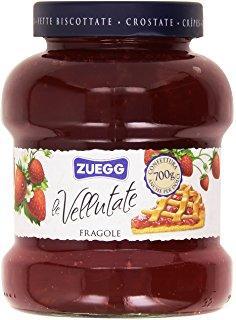 Джем клубничный Zuegg Vellutate Fragole 50% содержание фруктов, 700 г.