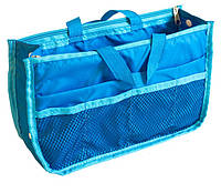 Органайзер для сумки украинский аналог Bag in Bag (голубой)