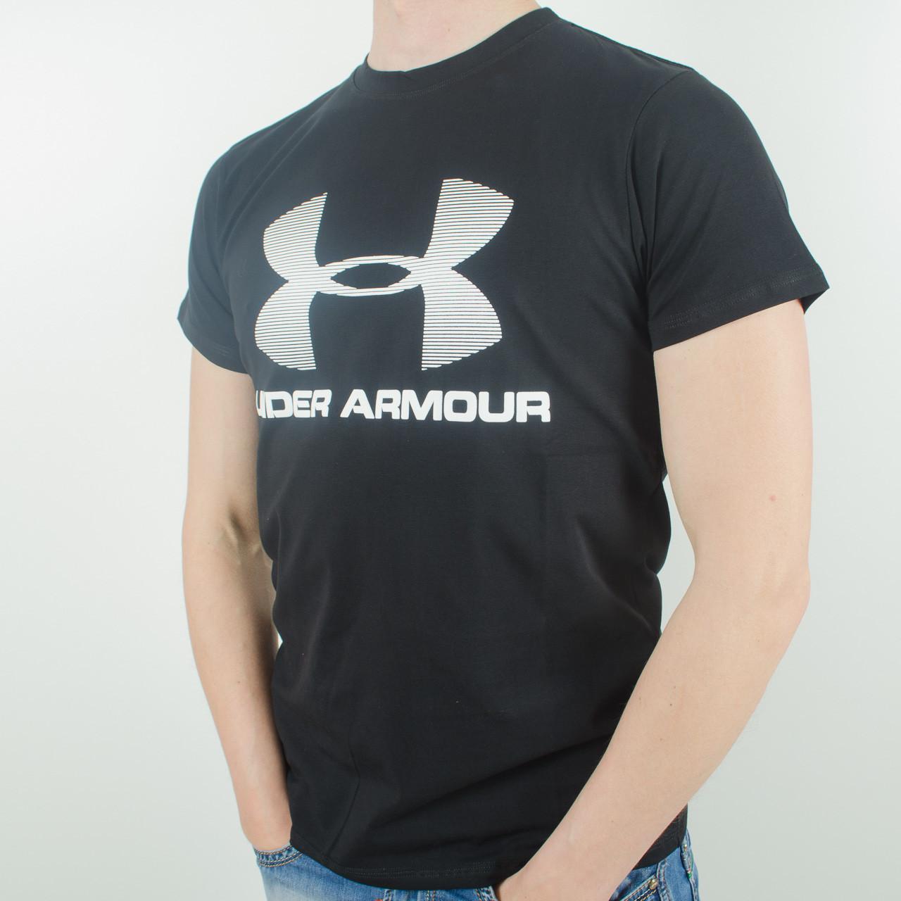 Футболка с логотипом, Under Armour (Черный)