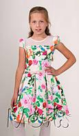 Детское нарядное летнее платье для девочки Mevis (122-146)