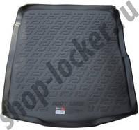 Резиновый коврик в багажник Volkswagen Passat B8 14- SD  Lada Locer (Локер)