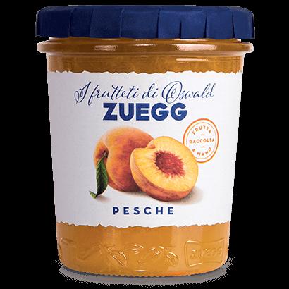 Джем персиковый Zuegg Pesche 50% содержание фруктов, 330 г.