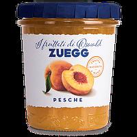 Джем персиковый Zuegg Pesche 50% содержание фруктов, 330 г., фото 1