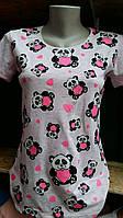 Стильная футболка для девочек Мишки размеры: 152,158,164,170,176 роста