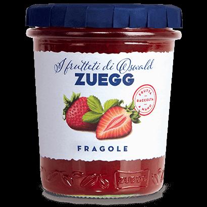 Клубничный джем Zuegg Fragole 50% содержание фруктов, 330 г.