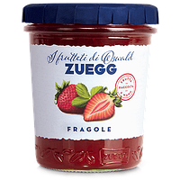 Клубничный джем Zuegg Fragole 50% содержание фруктов, 330 г., фото 1