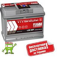 АКБ FIAMM TITANIUM PRO 6СТ- 60Аз 600А R (h=175)
