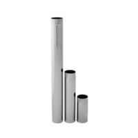 Труба дымоходная одностенная Ø 280, 1 метр AISI 304