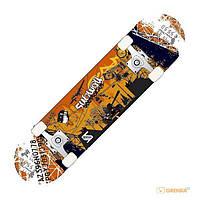 Прочная дека для скейтборда Metropol/С с рисунком
