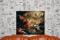 Аполлон и пастушка из Иссы. Франсуа Буше. 50х60 см. Репродукция.