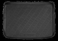 Резиновый коврик в багажник Volkswagen Touareg 02- Lada Locer (Локер)