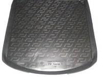 Резиновый коврик в багажник Volkswagen Touran 03-10 Lada Locer (Локер)