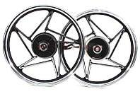 Диск колесный задний литой 18Х1,85 (под резинки) Viper-125J