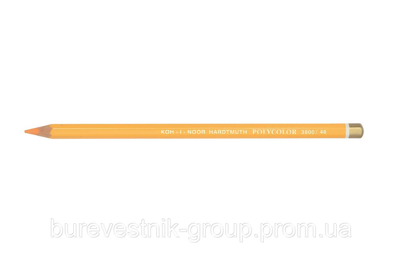 """Цветной художественный карандаш Koh-I-Noor """"Polycolor"""" CADMIUM ORANGE (3800/46)"""