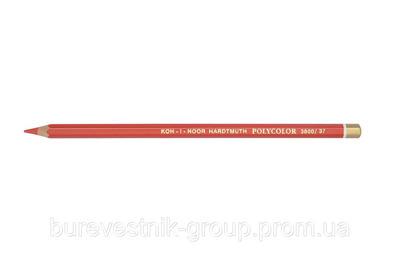 """Цветной художественный карандаш Koh-I-Noor """"Polycolor"""" CHERRY RED (3800/37)"""