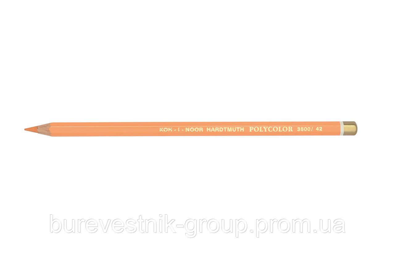 """Цветной художественный карандаш Koh-I-Noor """"Polycolor"""" CHROMIUM ORANGE (3800/42)"""