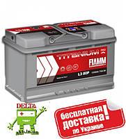 АКБ FIAMM TITANIUM PRO 6СТ- 80Аз 730А R
