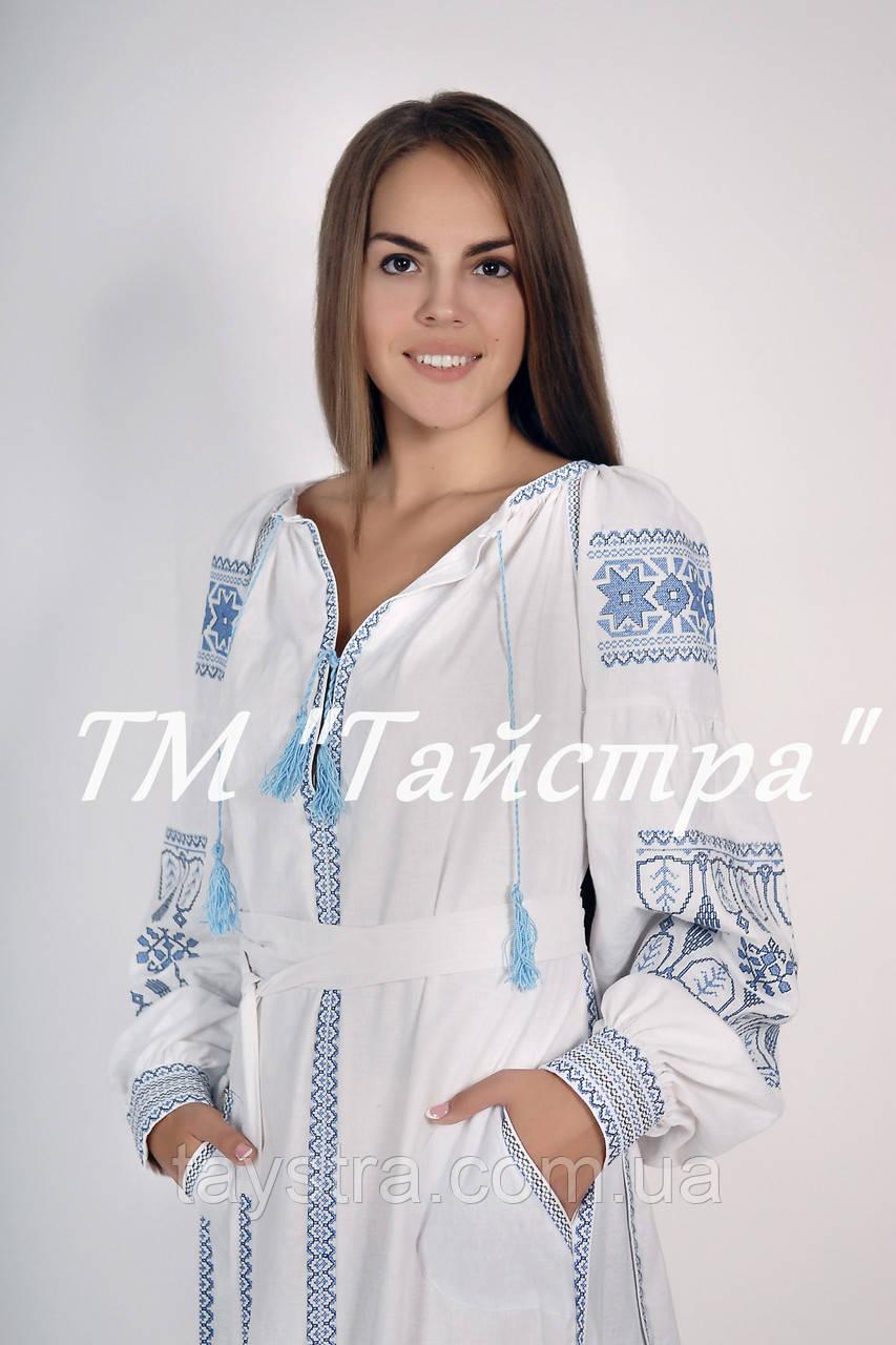 Платье бохо лен свадебное, этно, бохо-стиль, вишите плаття вишиванка, Bohemian