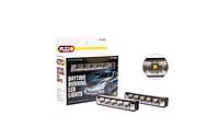 Фары дополнительные дневного света PULSO LP-10400 DRL 5SMD-5050, 3W ,12V, пластик, 151х24мм